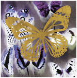 Raining Butterflies II Prints by Evangeline Taylor