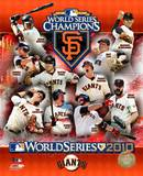San Francisco Giants 2010 World Series Champions Composite Photo