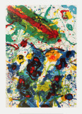 Untitled (1989) Posters by Sam Francis