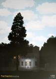 El imperio de las luces Posters por Rene Magritte