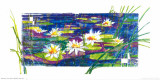 Water Lilies Poster by J. Mendel
