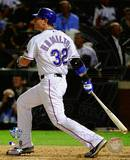 Josh Hamilton Game Three of the 2010 World Series Home Run Photo