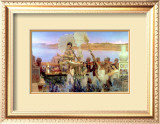 The Finding of Moses by Pharaoh's Daughter, 1904 Framed Giclee Print by Sir Lawrence Alma-Tadema