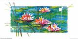 Water Lilies Prints by J. Mendel