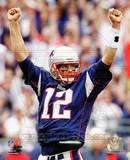 Tom Brady 2010 Action Photo