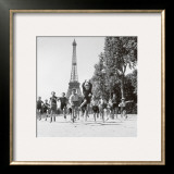 Champs de Mars Gardens Posters by Robert Doisneau