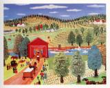 Konstantine Rodko - Sunday by the River Umělecké plakáty
