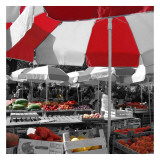 At the Market II Prints by Carl Ellie