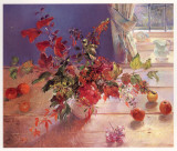 Honeysuckle and Berries Posters by Timothy Easton