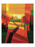 Zornbergweg II Prints by Ton Schulten