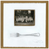 Brigade de Chefs, Fourchette Prints by Pascal Cessou