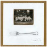 Brigade de Chefs, Fourchette Print by Pascal Cessou