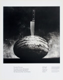 Watermelon and Knife Collectable Print by Robert Mapplethorpe