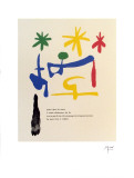 "Illustrated Poems-""Parler Seul"" Posters by Joan Miró"