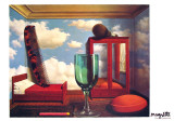 Les Valeurs Personnelles Prints by Rene Magritte
