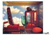 Les Valeurs Personnelles Prints by Rene Magritte