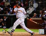 Edgar Renteria 3 Run home Run Game Five of the 2010 World Series Action Photo