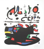 Ceret Collectable Print by Joan Miró