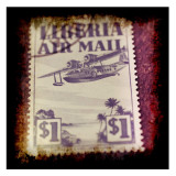 Airplane Stamp Prints by Jean-François Dupuis