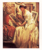 The Japanese Print Print by Fernand Toussaint