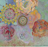 Bohemian Blossoms Prints by Jeanne Wassenaar