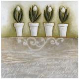 Pots de Tulipes Affiches par Véronique Didier-Laurent