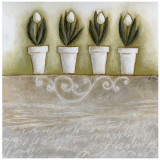 Pots de Tulipes Prints by Véronique Didier-Laurent