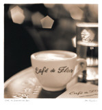 Caf&#233;, St. Germain des Pres Poster by Alan Blaustein