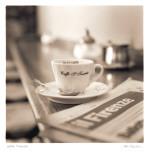 Caffe, Firenze Affiche par Alan Blaustein