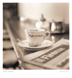 Caffe, Firenze Prints by Alan Blaustein
