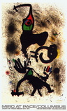 At Pace/Columbus (vertical) Collectable Print by Joan Miró