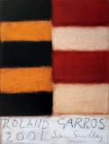Roland Garros, 2001 Druki kolekcjonerskie autor Sean Scully
