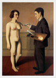 Tentative de LImpossible Print by Rene Magritte