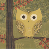 Forest Owl Prints by Sapna Sapna