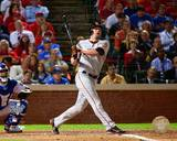 Aubrey Huff Game Four of the 2010 World Series Home Run Photo