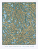 Shifted Lattice Serigraph by James Siena