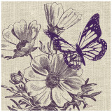 Butterfly Afternoon Print by Bella Dos Santos