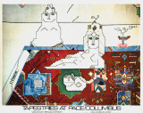 Persian Rug Posters by Saul Steinberg