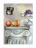 Fruits and Stones II Poster by Brigitta Kistlers