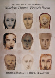 Peaceful Jesus (Detail) Print by Marlene Dumas