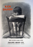 Girl at a Chair Collectable Print by Ken Danby