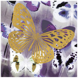 Raining Butterflies I Posters by Evangeline Taylor