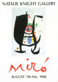 Natalie Knight Gallery Reproductions pour les collectionneurs par Joan Miró