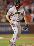 Texas Rangers v. San Francisco Giants, Game 5:  Brian Wilson Photographic Print by Ronald Martinez