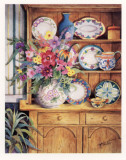 Cupboards of Memories Print by Marilyn Murphy