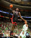 Miami Heat LeBron James 2010-11 Action Photo