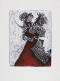 Danse Macabre Collectable Print by Richard Royce
