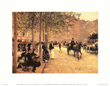 A Sunday Afternoon Prints by Jean Béraud