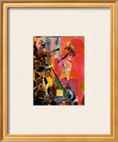 The Blues Poster by Romare Bearden