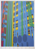 Beaubourg Serigraph by Perry King